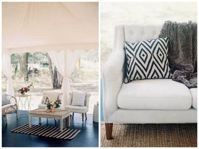 Marquee Wedding Styling