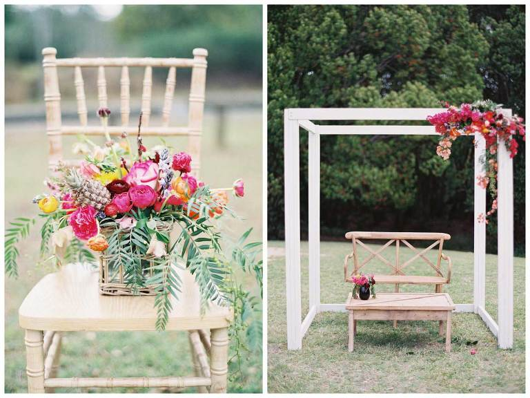 Hamptons Wedding Ceremony Styling