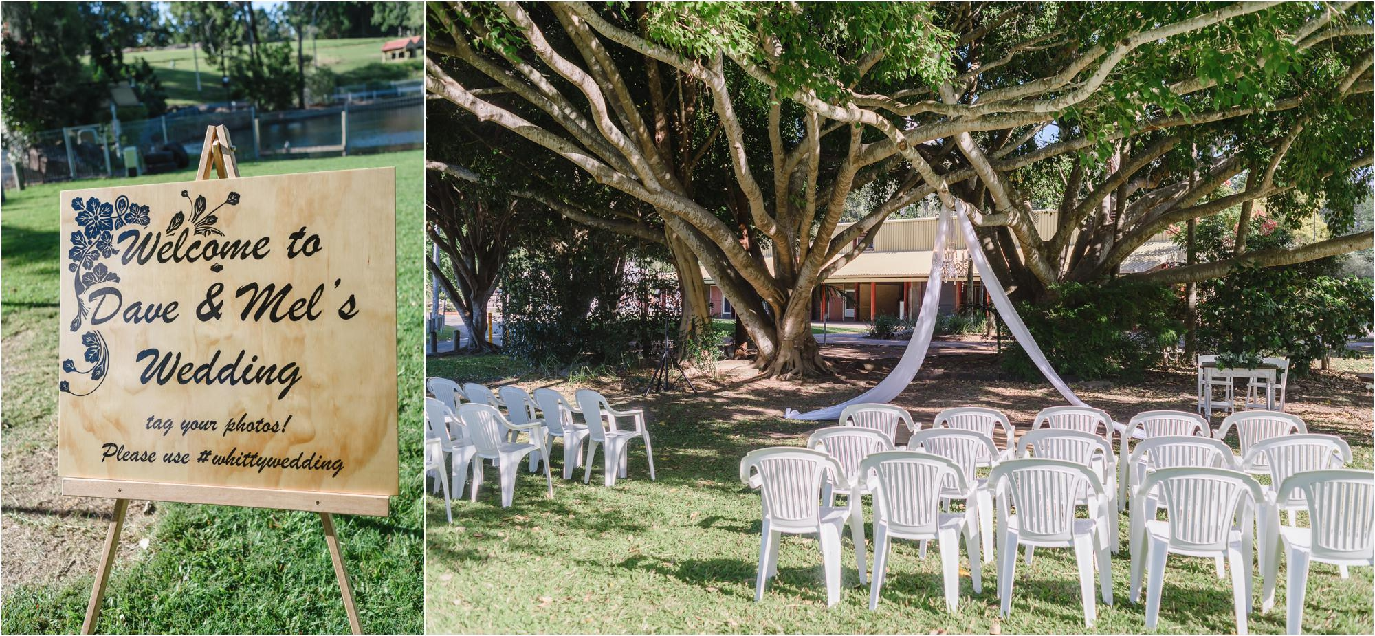 country paradise parklands wedding styling mel amp dave