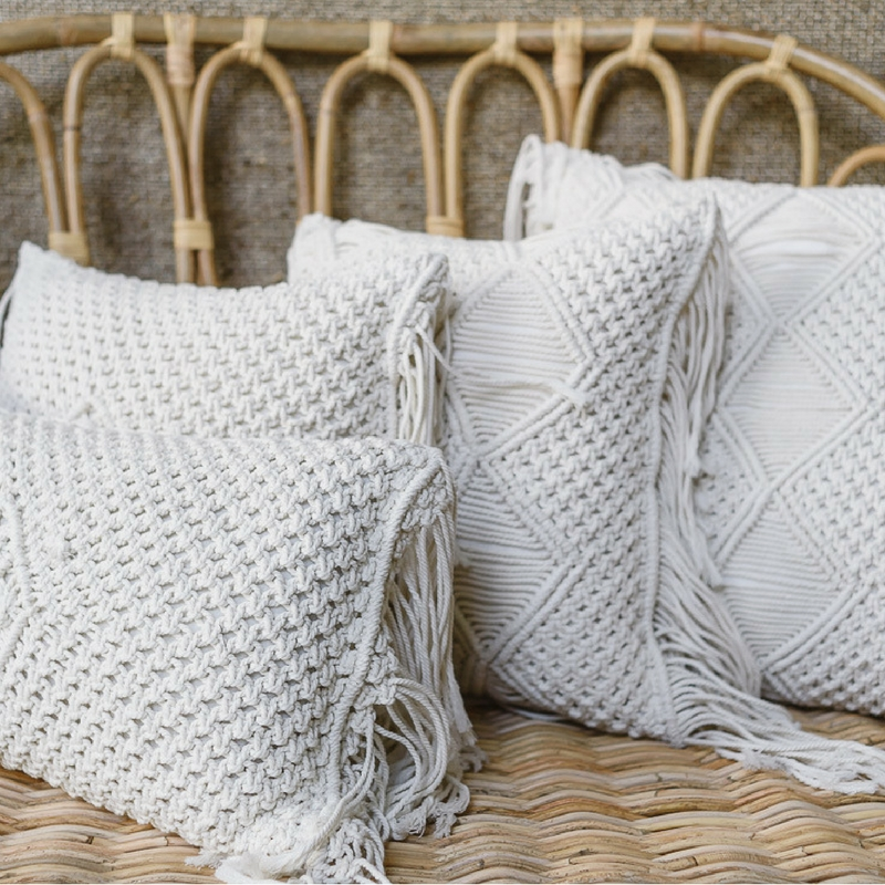 Sunday Bedroom Inspo Don T Mind If I Do Styling By: Cushions - Assorted Macrame 1 - Bliss & Willow