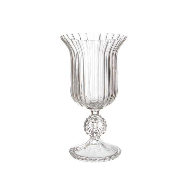 Glass Trumpet Vase Bliss Willow Wedding Styling