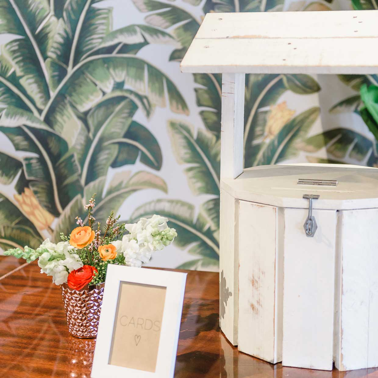 timber wishing well bliss willow wedding styling