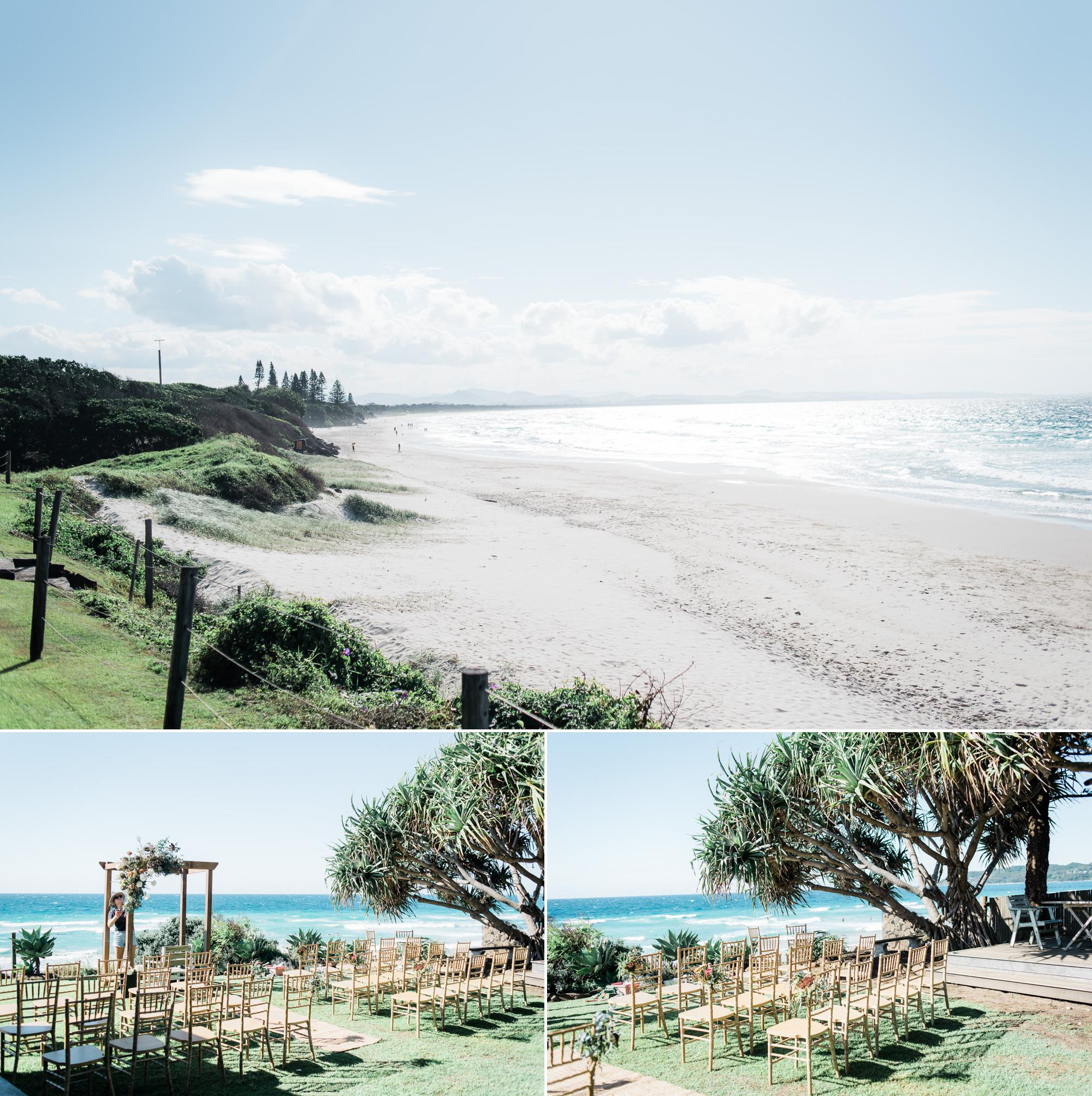 Belongil Beach Wedding Ceremony: Belongil Magdalena-4764 - Bliss & Willow